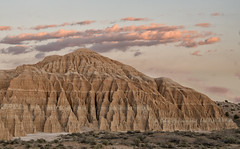 Cathedral Gorge Sunset (snowpeak) Tags: sunset pinkclouds cathedralgorge nevadastatepark nikond800e