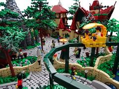 The People of Laaf (Swan Dutchman) Tags: fairytale lego organ amusementpark efteling monorail waterpump attraction kaatsheuvel laven laaf volkvanlaaf lavenlaar slakkenhuys peopleoflaaf lonkhuys loerhuys