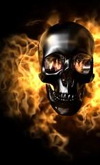 enfer (noor.khan.alam) Tags: france mort 666 satan inferno flamme gothique feu infernal diable horreur enfer peur squelette dmon faucheuse ttedemort satanique bruler dmoniaque satanisme belzbuth sotrisme sotrique