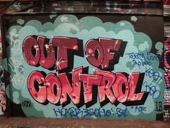 graffiti, Leake Street (duncan) Tags: graffiti outofcontrol leakestreet