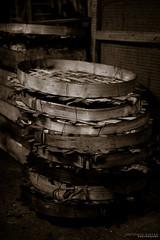 Dried fish baskets (aurivera.photography) Tags: street fuji market streetphotography fujifilm bicol fujinon albay fujixpro1 fujifilmxpro1