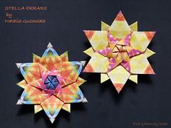 STELLA ERRARE  by Natalia Guzowska (esli24) Tags: origami origamistar papierstern origamistern esli24 ilsez nataliaguzowska stellaerrare