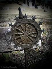 Woodlawn Cemetery (Gerri Gray Photography) Tags: newyork cemetery grave graveyard metal death memorial iron gravestone marker mementomori syracuse tombstones woodlawn gravemarker daughtersoftheamericanrevolution taphophilia