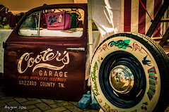 Cooter-Cola Garage (ericbaygon) Tags: door nikon garage wheels culture your american americana custom cooter kulture portire pinstripping d300s nikonpassionn