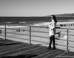 Christmas Day at the Santa Monica Pier (waterman1) Tags: santa leica pier blackwhite 28mm monica monochrom leicam 28mmsummicron leicamonochrom