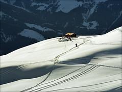 Summit on the top..:) (Katarina 2353) Tags: winter film landscape switzerland nikon europe swiss verbier katarinastefanovic katarina2353