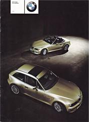 BMW Z3 brochure 01-2000 (sjoerd.wijsman) Tags: auto cars car 2000 voiture bmw vehicle brochure z3 fahrzeug folleto bmwz3 prospekt 012000 carbrochure opuscolo brochura broschyr autobrochure