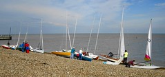 Whitstable (g.p.fielding) Tags: sea beach sail whitstable