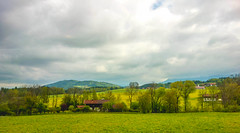 A cloudy day (malc1702) Tags: travel houses holiday tree nature beauty clouds landscape switzerland scenery scenic hills cloudyday wonderworld colorsinourworld sonyrx100