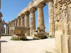 P3296477ac Majestic Ruins of Temple of Hera (pfjc&pfjc2) Tags: italy europa sicily templee greektemples templeofhera trapaniprovince mediterraneanisland selinuntesite