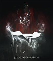 Juego de Caballeros (PetterZenrod) Tags: game art illustration death picture muerte juego courage ilustracin coraje