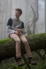 Sexy Dead Tree II (Slamino) Tags: mist fog mort deadtree shooting arbre vosges snag brume modle