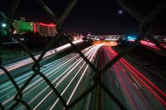 Long Exposure at Reno's I-80 (Beau Rogers) Tags: longexposure neon nevada casino interstate reno greatbasin interstate80 renonevada renostreet