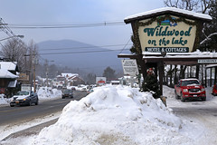 (Jean Arf) Tags: winter snow motel february wildwood adirondack adk lakeplacid 2015