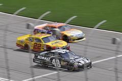 NASCAR Jimmie Johnson and Kurt Bush on the track (@NascarTriv) Tags: nascar hms hendrick jimmiejohnson frontstretch nascartriv