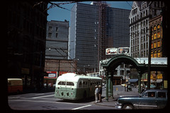Pioneer Square Pergola 1960s (Seattle Department of Transportation) Tags: seattle 2001 history glass truck iron anniversary historic repair transportation archives oops pioneersquare municipal rebuild pergola tbt rememberwhen sdot throwbackthursday julianeverett