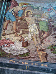 Cathedral Basilica of the Assumption, Covington, KY (Robby Virus) Tags: art church tile catholic christ cross cathedral god mosaic kentucky glory religion jesus christian christianity crucifixion stations covington crucify
