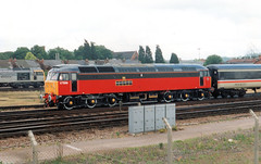 47569 (R~P~M) Tags: uk greatbritain england train diesel unitedkingdom railway gloucestershire parcels gloucester locomotive britishrail 47 glos