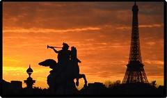 Sunset in Paris (2) (Ioan BACIVAROV Photography+3.500.000visits-Thanks) Tags: people paris france tower art beautiful statue wonderful amazing interesting nikon tour eiffeltower eiffel toureiffel contrejour ioanbacivarov bacivarov nikon5100artistic ioanbacivarovphotostream