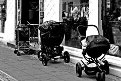 we're waiting (Sebastian Zukrowski) Tags: street kids for waiting strollers