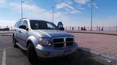 2008 Dodge Durango - on Jebel Hafeet, UAE, Feb 2016 (Patrissimo2017) Tags: suv 2008 dodgedurango