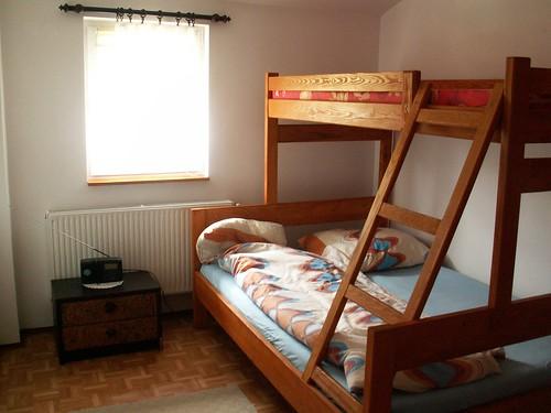 3 osobowe łóżko piętrowe w agroturystyce w Kamienicy