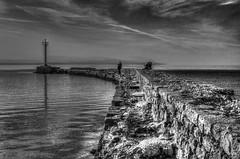 Old seawall (theseustroizinian) Tags: sea seascape canon landscape seaside corinth hellas greece hdr loutraki peloponnese seasunandclouds canoneos700d simplysuperb hdraward eos700d