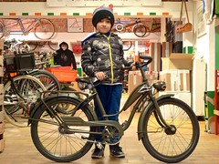 P1s Army Bike is Done (@WorkCycles) Tags: amsterdam bike bicycle shop army shark kid military henry oldtimer oud noseart fiets kinderfiets stadsfiets workcycles