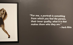 Herb Ritts Exhibit -Tina Turner (Contrails) Tags: ohio music usa museum photo cleveland rockandroll rockandrollhalloffame tinaturner herbritts