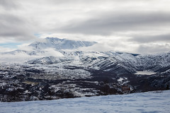 2016-01-09 - Mount St Helens Trip-22 (www.bazpics.com) Tags: winter usa mountain lake snow castle ice america landscape volcano washington scenery january wa mountsthelens viewpoint