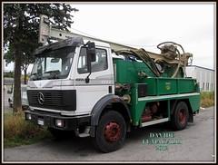 Mercedes-Benz 1722 (DaveFuma) Tags: truck mercedes benz camion sk lkw autocarro 1722 trivella bohrgerate