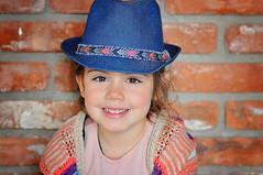 Fedora (Viescencia) Tags: california family portrait girl field kids garden photography one photo backyard nikon flickr day child fav50 outdoor 85mm depthoffield explore american depth challenge d90 fav10 fav100 explored instagram