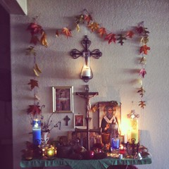 Altar on Rosh HaShanah (jewcelt) Tags: autumn high days christian holy jewish rosh hashanah