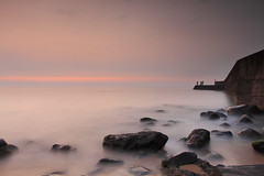 六塊厝漁港 (Lavender0302) Tags: sunset taiwan 夕陽 台灣 淡水 六塊厝 屯山 新北市