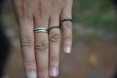 Leech rings (mansi-shah) Tags: hands rainforest farming coorg madikeri leech forestecology mansishah rainforestretreat jenniferpierce ceptsummerschool