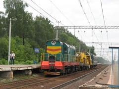 RZD ChME3-1236. Gorkovskoe direction, Kupavna.