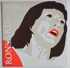 Morelli: Ronsard (alexisorloff) Tags: records vinyl albums musique sleeves disques chansons pierrederonsard 33tours pierreronsard pochettesdisques ©alexisorloff moniquemorelli linoléonardi dmary