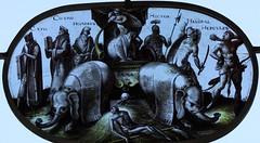 Strawberry Hill (richardr) Tags: old uk greatbritain england london english heritage history window glass europe european unitedkingdom britain stainedglass richmond historic british europeanunion twickenham walpole strawberryhill