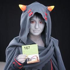 2015-03-14 S9 JB 87461#coQ3,8 (cosplay shooter) Tags: anime comics comic cosplay manga leipzig cosplayer rollenspiel roleplay lbm 100x leipzigerbuchmesse homestuck thesignless cronusampora 2015043 x201603 id058172 daisukeelric 2015167