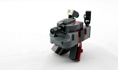 Mk.3x Twank (DSGrey, Front) (Deltassius) Tags: mobile robot war tank lego space military walker frame zero mecha mech wanzer twank tweepunk mfz mf0