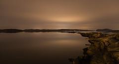 Copper night (Per-Karlsson) Tags: longexposure light sea sky seascape night clouds landscape sweden outdoor overcast copper scandinavia bohuslän waterscape bohuslan swedishwestcoast canonef24105mmf40lisusm canoneos6d