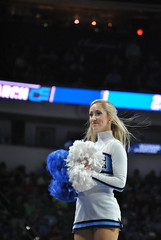 TARHEEL CHEERLEADER (SneakinDeacon) Tags: basketball acc cheerleaders florida tournament ncaa eagles unc tarheels gulfcoast marchmadness atlanticsun