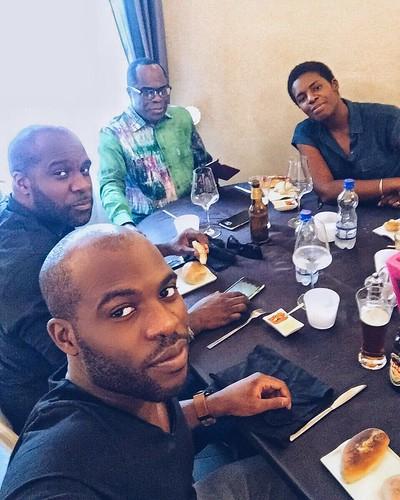 Dad, bro, sis & me ❤️ #family #love #kinshasa #drc #africa