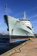 HMCS Preserver (Evan MacPhail Photography) Tags: from nova ship royal canadian her scotia halifax takes fuel preserver hmcs athabaskan rcn majestys navyhmcs alongsidedockyard