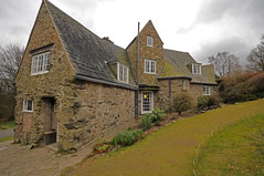 Stoneywell Cottage from rear. (Mike_J_G) Tags: artsandcrafts ernestgimson stoneywell