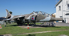 XW934 Bae HARRIER FAST MUSEUM FARNBOROUGH (toowoomba surfer) Tags: museum aircraft aviation aeroplane vtol aviationmuseum