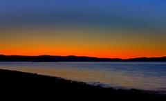 Dusk (Kjetil ) Tags: sunset norway canon eos norge twilight rye trondheim hanger agdenes 500d byneset