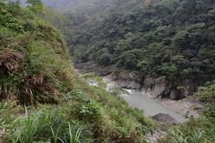 Valley Below (Bob Hawley) Tags: mountains forest outdoors asia taiwan views valleys nikon1755f28 yunlincounty nikond7100 qingshuiriver