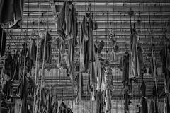 Schicht im Schacht (ddimblickwinkel) Tags: old urban bw white black germany deutschland dresden nikon kunst saxony surreal forbidden sachsen sw schwarz sprung verlassen d300 weis forgottenplaces bergbau einfarbig schwarzweis urbanexplorer d300s urbexer