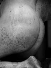Butt (G E G / VEVZE) Tags: sculpture white man male men art ass statue museum nude blackwhite back body albert butt victoria cast corps and homme glutes blakc